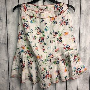 Odille  floral skirt
